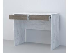 Стол СТ-1 бетон светлый/ камень темный