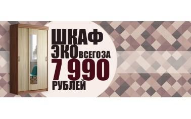 Шкаф-купе Эко за 7990 рублей!