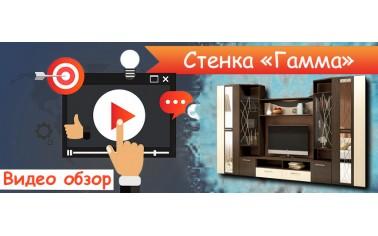"Видео обзор. Стенка ""Гамма"" - 21 180 рублей"