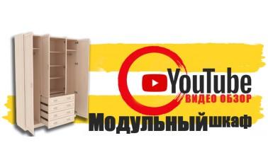 Видео обзор. Модульная серия распашных шкафов.