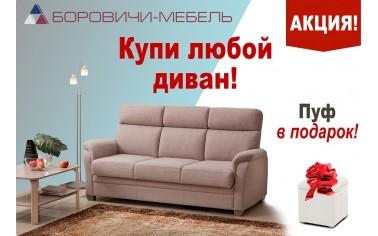 """Акция от мебельной фабрики """"Боровичи"""""""
