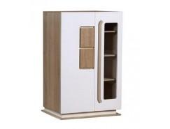Шкаф комбинированный 30.03-02 Дора дуб сонома/ белый глянец