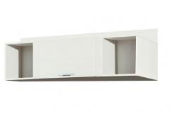 Шкаф навесной 06.90 Рапсодия вудлайн кремовый/ сандал белый