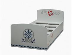 Кровать одинарная Лего-2 (Кораблик)