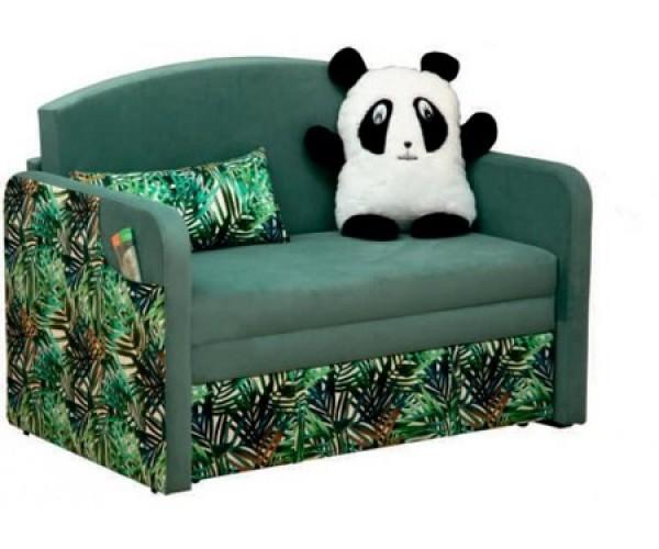 Тахта Мася - 9 (панда)  ткань велюр нео аква/ микровелюр тропики