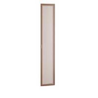 Дверь Миндаль 2188*396 Masa Decor аруша венге/профиль аруша венге кожа коричневая
