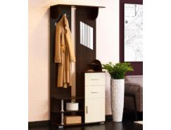 Виола - 2 шкаф комбинированный венге/дуб линдберг