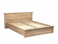 Кровать 39.05-01 Антика 1400 + ортопедическим осн. дуб каньон/дуб каньон