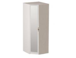 Шкаф угловой  06.23 Габриэлла вудлайн кремовый + дверь с зеркалом Габриэлла аруша венге с патиной/латунь