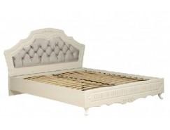 Кровать двуспальная Кантри Патина 06.121 вудлайн кремовый/сандал белый (1600) (надо ортопед.основание)