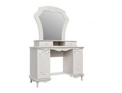 Стол туалетный 06.33 Кантри вудлайн кремовый/ сандал белый