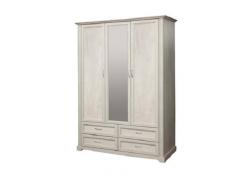 Шкаф для одежды 32.02 Сохо бетон пайн белый/ бетон пайн патина