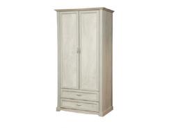 Шкаф для одежды 32.03 Сохо бетон пайн белый/ бетон пайн патина