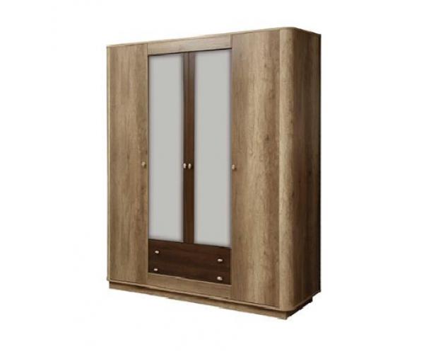Шкаф для одежды 34.01 Фантазия дуб каньон/ дуб кальяри