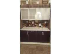 Кухонный уголок Пластик белыйглянец/ баклажан
