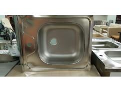 Мойка прямоугольная врезная 560х435 мм правая (раковина справа)