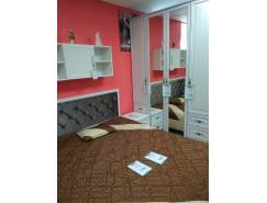 Спальня Габриэлла (кровать+2 пенала+шкаф д/од. С зерк.+тумба прикров.)