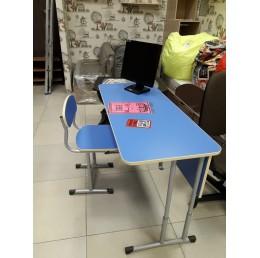 Регулируемый письменный стол+ стул