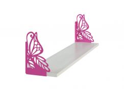 Полка фигурная Бабочка (полка+консоль)