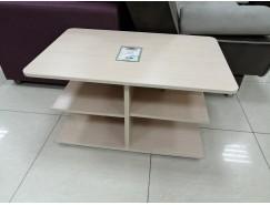 Эдем-09 (стол журнальный) беленый дуб/беленый дуб