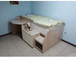 Кровать одинарная Тони-12 с защитным бортом