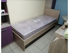 Кровать К08 дуб сонома