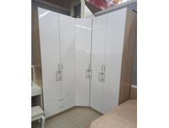Набор шкафов Лотос дуб сонома/белый глянец