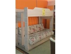 Кровать 2-хярусная с диваном (2 кат)