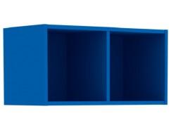 Полка открытая Дарина УП02  синий