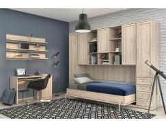 Спальня  №7 дуб сонома