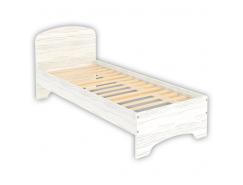 Кровать с ортопедическим основанием одноместная КМ08 арктика