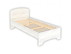 Кровать одноместная с ортопедическим основанием КМ09 арктика