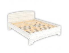 Кровать двухместная с ортопедическим основанием КМ16 арктика