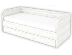 Кровать-софа с ортопедическим основанием КС09 арктика