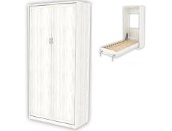 Кровать подъемная 900 мм (вертикальная) К02 арктика