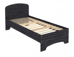 Кровать одноместная с ортопедическим основанием КМ09 графит
