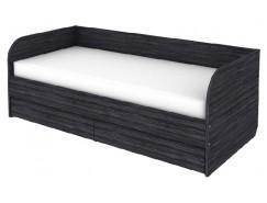 Кровать-софа с ортопедическим основанием КС09 графит