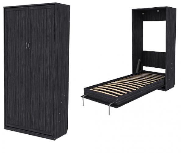 Кровать подъемная 900 мм (вертикальная) К02 графит