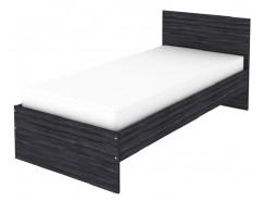 Кровать одноместная с ортопедическим основанием К09 графит