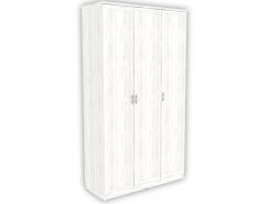 Шкаф для белья с полками и штангой 106 арктика