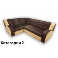 Диван угловой Витязь-1У ткань комбинированная 2 кат.
