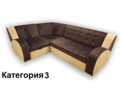 Диван угловой Витязь-1У ткань комбинированная 3 кат.