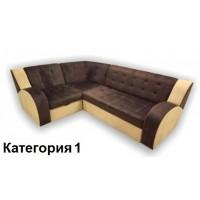 Диван угловой Витязь-1У ткань комбинированная 1 кат.
