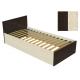 Кровать К-9 венге/дуб молочный