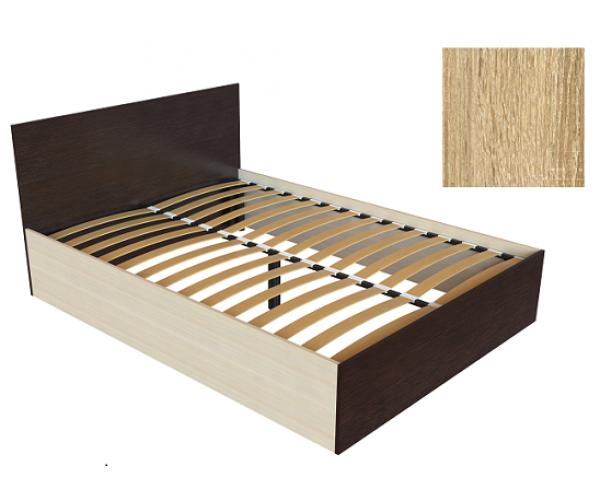 Кровать К-14 дуб сонома