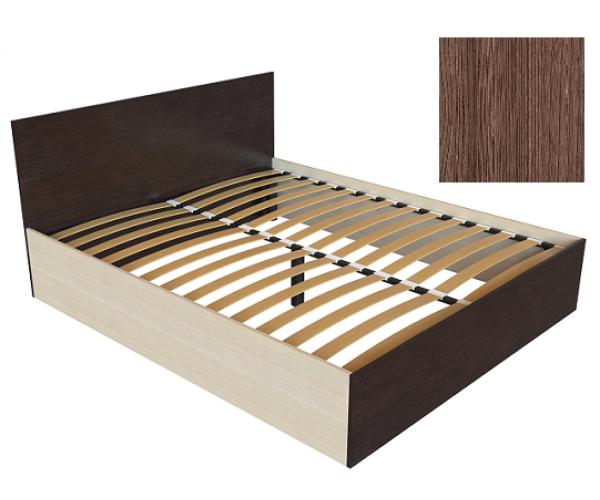 Кровать К-16 ясень шимо темный