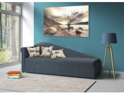 Диван-кровать Троя ткань микров. Лас Вегас / рогожка виноград
