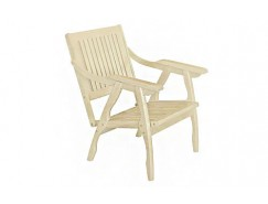 Кресло Массив решетка лак