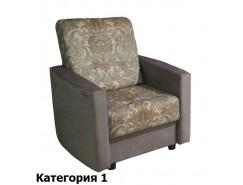 Кресло Феникс 1К в однотоне комбинированное (1 кат.)