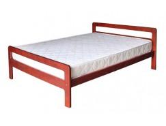 Кровать массив б/м 0,9 вишня